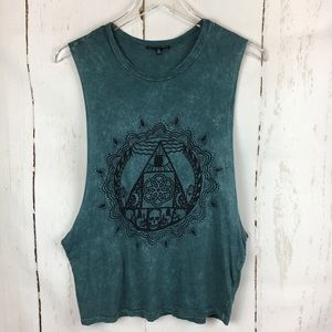 Truly Madly Deeply | Graphic Print Tank Top